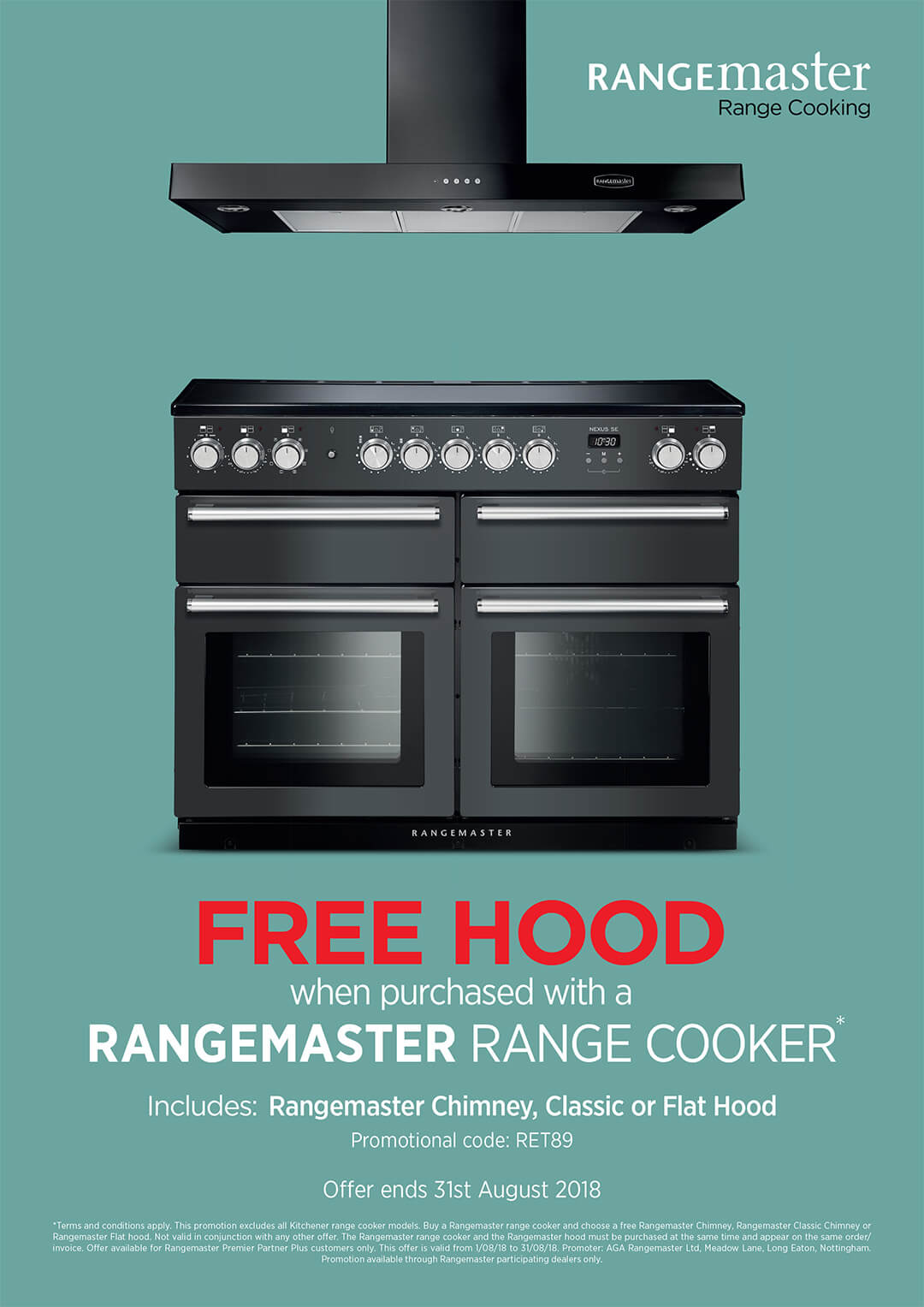 range cooker centre in perth